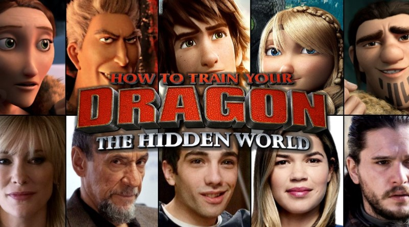 How to train your dragon 3 (Look how they have grown up!)