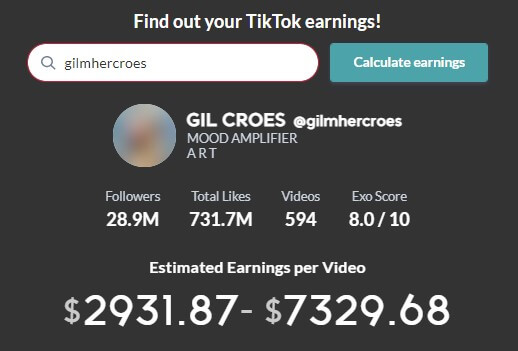 gilmhercroes-per-day-earning