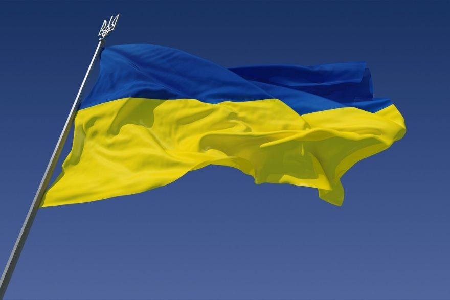 flag-with-blue-and-yellow-color
